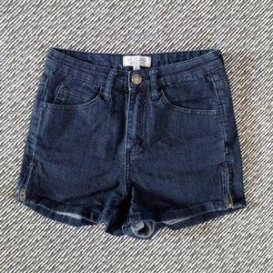 H81 Jean Shorts High Rise - 25